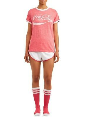 COCA COLA COKE 3 PIECE PAJAMAS PLUS SIZE 2X 3X NEW!