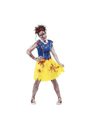 Kostüm Teen Zombie Schneewittchen - Teen Zombie Kostüm