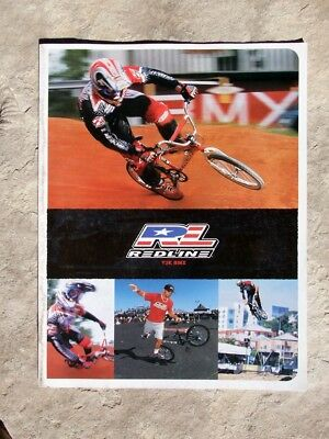 Collectable Y2K, 2000 Redline Freestyle & BMX Bicycle, Catalog