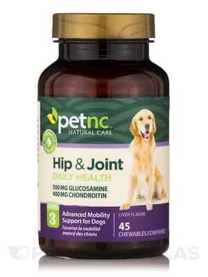 - Dog Hip and Joint 500 / 400 mg (Level 3) - 45 Chewables by PetNC Natural Care