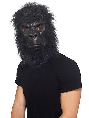 Adult Black Gorilla Costume Mask  ](Gorilla Costume Mask)