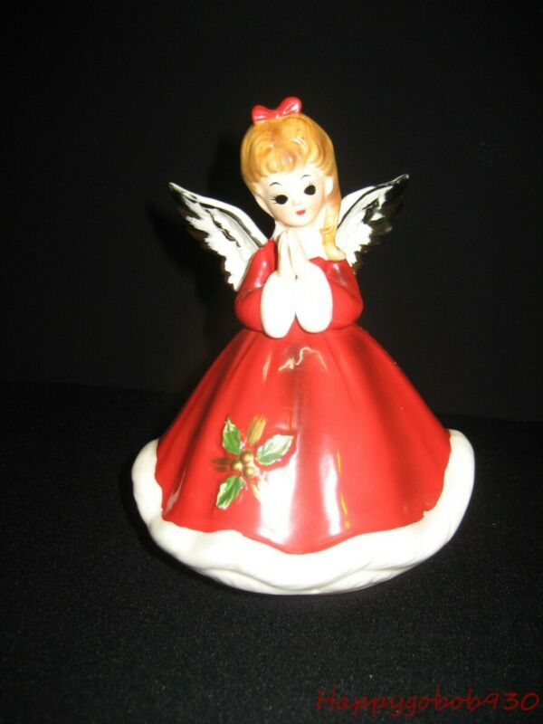 "Vintage 1960s Japan Made Christmas Angel Plays Ava Maria ""Josef Original?"""