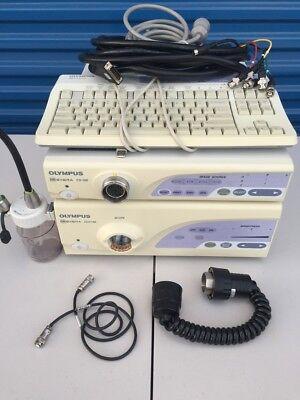 Olympus System Cv-160 Clv-160 Maj-843 Keyboard Mh-966 Maj-1462  More