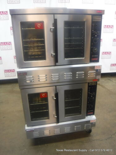 Lang GCCO-AP Gas Double Deck Full Size Convection Oven