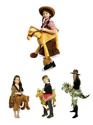 Reittier für Kinder aus Plüsch 2-10 - Reittier Kostüm