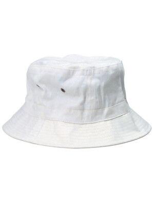 White Popeye Gilligan Sailor Captains Navy Fishing Marine Costume Bucket Hat