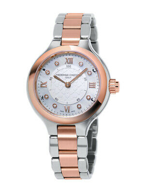 Frederique Constant Women's Diamond Accents Smart Watch 34mm FC-281WHD3ER2B