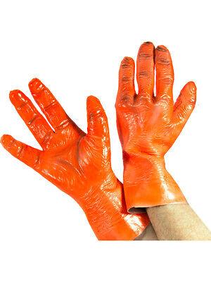 Alien Hands Costume (Blacklight Responsive Alien Hands Costume Accessory)