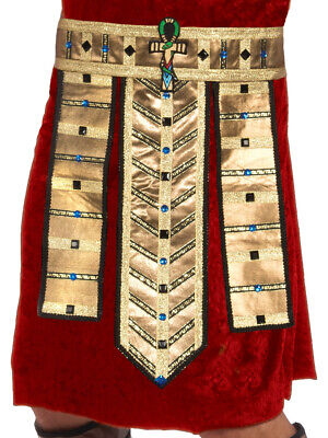 Egyptian Pharoah Costume (Adults Mens Egyptian Pharoah Belt Costume)