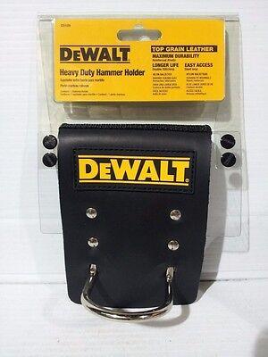 DEWALT D5125 Heavy Duty Top Grain Leather Hammer Holder (X0536) - Heavy Duty Top Grain