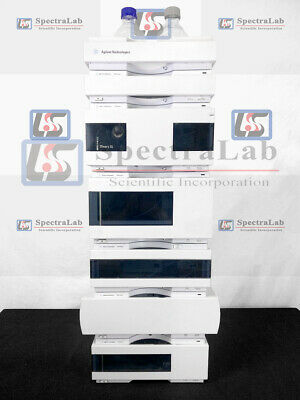 Agilent 12001260 Series Hplc System W G1312b Pump G1315d Dad 1 Year Warranty