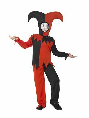 Smi - Kinder Kostüm Hofnarr Clown Karneval Halloween