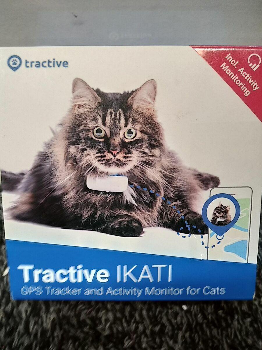 Neuestes Modell Tractive GPS-Halsband für Katzen mit Aktivitätstracking - Leich