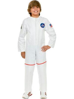 Child's White Astronaut Girls NASA Boys Costume](Girls Astronaut Costume)