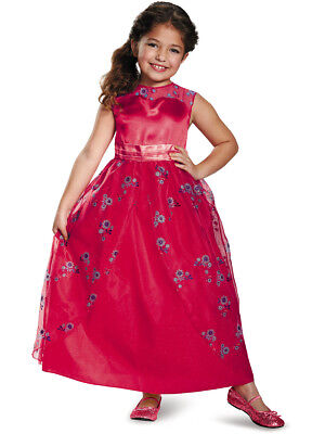 Child's Girls Disney Princess Elena Of Avalor Ball Gown Dress - Disney Kids Costumes