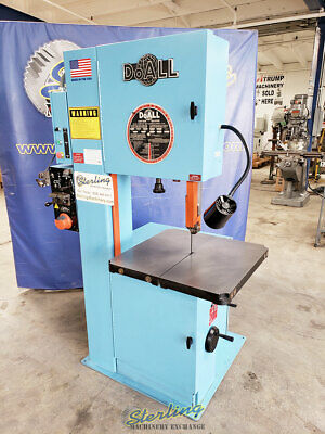 20 Used Doall Vertical Contour Bandsaw With Welder Mdl. 2013-v A5503