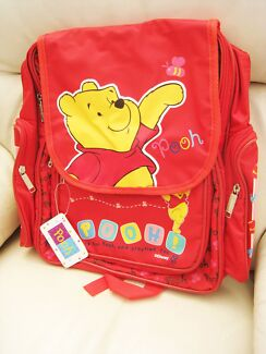 Brand New with Tag Winnie The Pooh Licensed Backpack School Bag Epping Ryde Area Preview