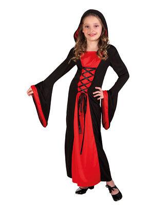 Kostüm für Kinder Vampir-Lady Halloween