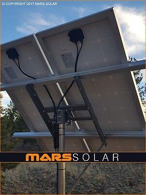 "Mars Solar V2.0 Solar Panel Suffering System / 2"" (OD) Pole Mount Fits 40W - 500W"