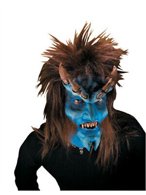 Reel FX Brimstone Devil Theater Make Up Costume Mask](Fx Latex Halloween Masks)