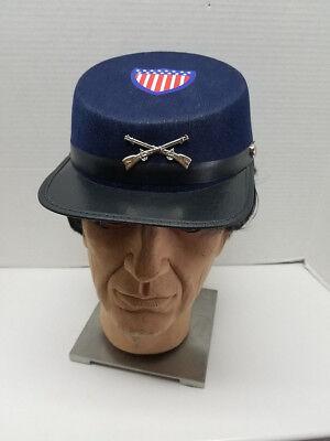 Civil War Union Army  Kepi Cap, Forage Cap, Costume Hat Assorted - Union Civil War Costume