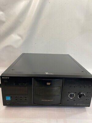 SONY DVP-CX995V, 400-Disc DVD/SA-CD/CD Mega Changer, Refurbished (oe (PBR045406)