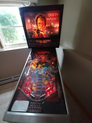 Dirty Harry Arcade Pinball by Williams