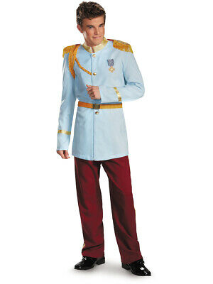 Mens Adult Disney Prince Charming Prestige Costume Large-X-Large L-XL 42-46 - Prince Charming Disney Costume