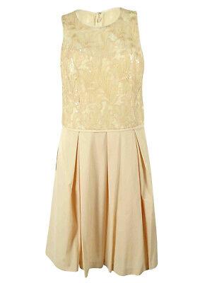 Lauren Ralph Lauren Women's Sleeveless Sequined Detail Dress