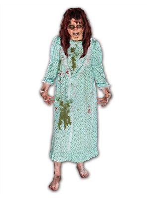 Exorcist Halloween Costumes (Womens The Exorcist Regan Adult Standard Size Costume With)