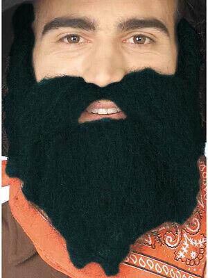 Black 49er Mountain Bush Man Costume Moustache & Beard