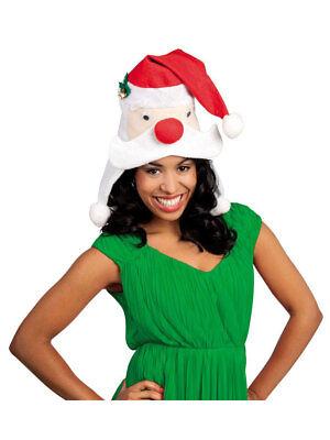 Xmas Hut Hut Santa head Weihnachtsmann Kopf Weihnachtsmütze ()