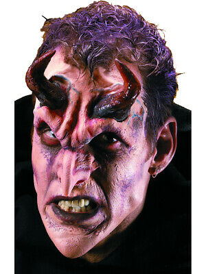 Devil Halloween Costumes Makeup (Reel FX Baal Demon Theater Quality Make Up Costume)
