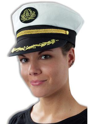 Swirl Trim Yacht Boat Captain Sailing Fishing Hat Cap - Captains Hats