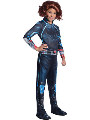 Kid's Girls Marvel Black Widow Avengers 2 Costume - Black Widow Marvel Costumes