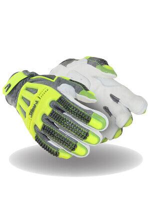 Magid T-rex Windstorm Series Trx748 Goatskin Leather Palm Impact Glove Cut A5