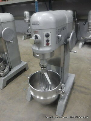 Hobart H-600t Pizza Donut Pizza Dough Mixer 60 Qt W Bowl Beater