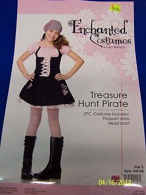 2 pc. Treasure Hunt Pirate Wench Caribbean Girl Dress Up Halloween Child - Hunting Girl Halloween Costume