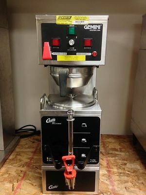 Commercial Coffee Brewer For Satellites W Hot Water Faucet Satellite - Curtis
