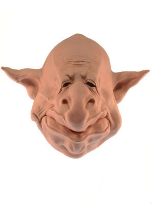 TROLL Maske aus Schaumlatex Fasching Party Karneval