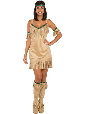 Women's Native American Princess Tribal Warrior Costume