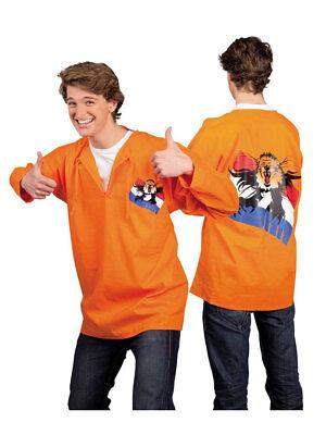Kostüm für Erwachsene Karnevals Kittel Orange Party - Fußball Kostüm Für Erwachsene