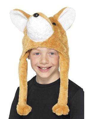 Fox Hut Kinder Kunstpelz Tier Fantastisch Foxy Hut - Foxy Kostüm Kinder