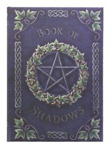 Book of Shadows Embossed Journal Gothic Hardback Notebook Wicca Spells Pentagram