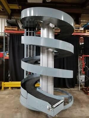 Ryson Spiral Incline Conveyor 20 Wide Belt 12 High