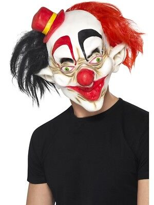 Gruselig Clown Maske Halloween Zirkus Clown Kostüm Zubehör Clowns Maske