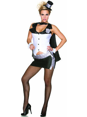 Womens Adult Sexy Abracadabra Magicians Assistant - Magician Assistant Costume
