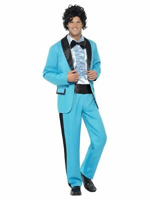 SMIFFY 43194 80er Jahre Musik Star Prom King - Smiffys Fancy Dress Kostüm