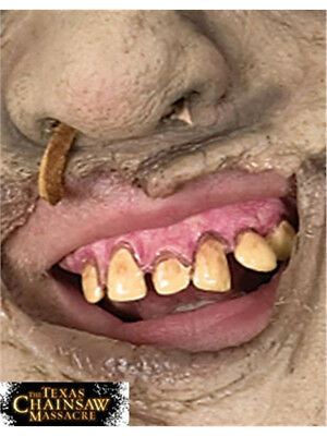 Texas Chainsaw Massacre Costume Leatherface Fake Vinyl Teeth Set