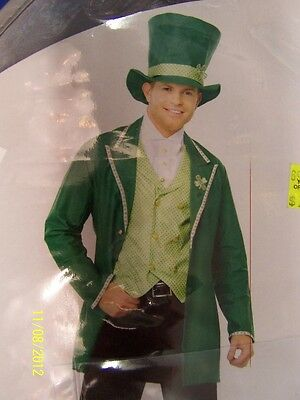 4 pc. Lucky Guy Leprechaun St. Patrick's Day Dress Up Adult Halloween Costume